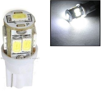 9 SMD - Miniature Wedge Retrofit - Cool White / 5630 LED chips