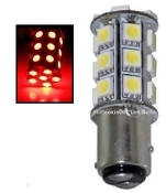 1157 Dual Function 27 SMD LED BAY15D Retrofit / Red
