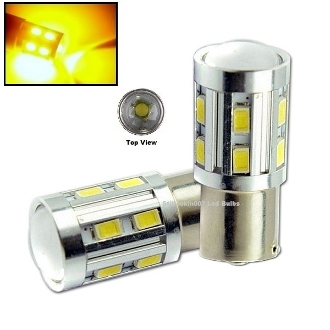 1157 - BAY15D -  High Power 11 Watt  Amber / Yellow (1157, 2057)