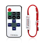 11 Key RF Mini RemoteControl for Single Color LED Strips