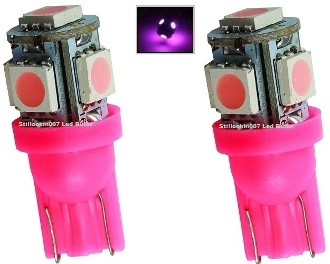 5 SMD - Miniature Wedge Retrofit - Pink / Purple