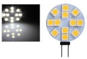 12 SMD - G4 Bi-Pin Retrofit - Cool White