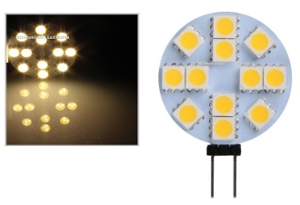 12 SMD - G4 Bi-Pin Retrofit - Warm White