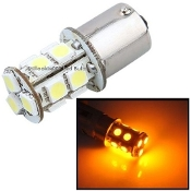 1156 - BA15S - 13 LED Amber / Yellow (1141, 1156, 2056)