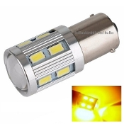 1156 - BA15S - High Power 11 Watt Amber/Yellow(1141, 1156, 2056)